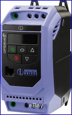 0.75kw 1 HP IP20 Three Phase AC Inverter Variable Speed Drive, Motor Controller