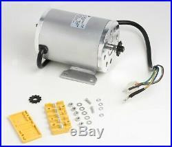 1000W 48V BLDC Brushless motor BM1020+Speed controller GoKart Scooter eBike DIY