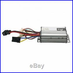 1000W 48V DC Electric Motor Kit with Base Speed Controller&Foot Pedal Throttle