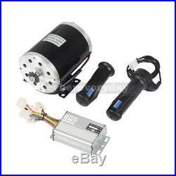1000W 48V Electric Bike Scooter Kit Motor + Speed Controller + Throttle Grips