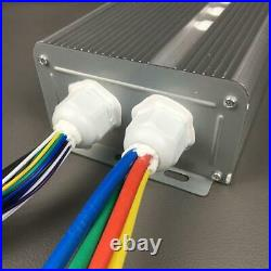 120v 3000w 4500w Brushless Motor Speed Controller 80a 24/36mosfet 120degree Phas