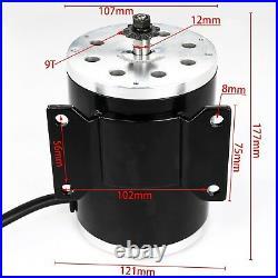 1800W 48V Brushless DC Electric Motor Speed Controller Throttle Grip ATV Go Kart
