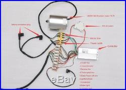 1800W 48V Brushless Electric Motor Speed Controller Twist Throttle ATV Go Kart E