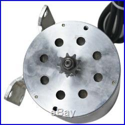 1800W 48V DC Brushless Motor 3 Speed Controller Throttle Grips Pedal ATV Go Kart