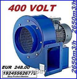 1850m3 Industrial Centrifugal Blower Fan + 500Watt Speed Controller Extractor