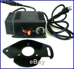 1/2 HP Variable Speed DC Drive Kit Motor Control Pulleys Belt 395-10260 RPM New
