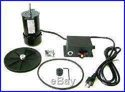 Motor Control Pulleys Belt 250-900 RPM SALE 1//3 HP Variable Speed DC Drive Kit