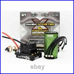 1/6 Mamba Monster X8S with1717-1650KV Castle Brushless Motor CSE010016502