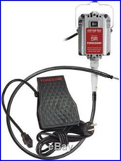 230 Volt Foredom Flex Shaft Sr Motor Kit 1/6hp Fch-2 Speed Control -30 Handpiece