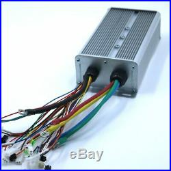 24 MOSFET 48-72V 3000W 80Amax BLDC motor controller, EV brushless speed eBike