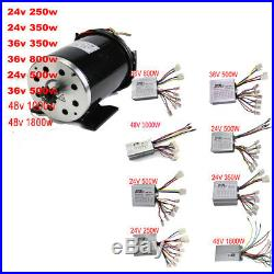 24v 36v 48v 1000w 1800w 500w 800w 350v Brushless or Brush Motor Speed Controller