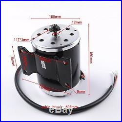 24v 500w Electric Motor Speed Controller Batteries Fr Scooter Go Kart Mini Bike