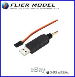 250A Car Flier ESC 12S LiPo with BEC speed controller for 1/5 brushless motors