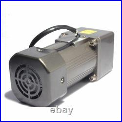 250W 220V AC Gear Reduction Motor Speed control reversible motor 110 135rpm