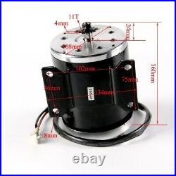 36v 800w Brush Motor Kit Speed Controller for Electric Bike Scooter Razor ATV