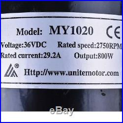36v 800w Electric Motor Speed Controller Batteries Fr Scooter Go Kart Mini Bike
