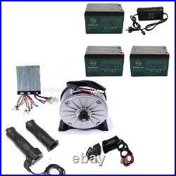 36v 800w Electric Motor Speed Controller Battery Charger Scooter Quad Go Kart