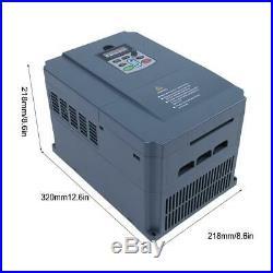 3HP 380V 11KW Frequenzumrichter VFD Inverter Vector Motor Drive Speed Controller