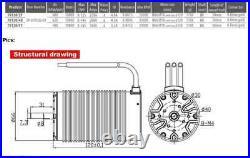 400A CAR ESC 16S + 70120 Big Brushless Motor 1/5 Scale Car Truck