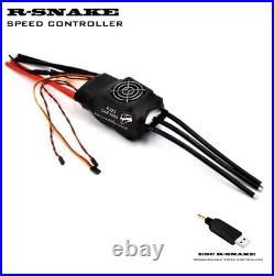 400A Car ESC 4-22S LiPo 90V R-Snake for 1/5 Brushless Motor + USB LINK