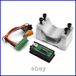 400W Brushless Spindle Motor +600W PSU Speed Driver Controller For CNC Engraving