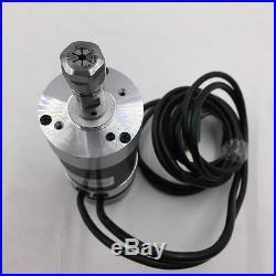400W DC Brushless Spindle Motor ER11 12000r/min PWM Speed Controller Mach3 48V