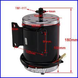 48V 1000W Electric Brush Motor + Speed Controller + Foot Pedal + Key Lock ATV