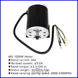 48V 1800W Brushless DC Electric Motor & Speed Controller & Pedal & Wiring Gokart