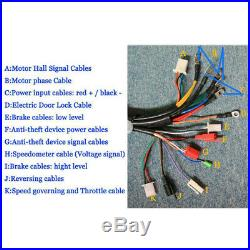 48V Electric Bicycle Brushless Motor Speed Controller For E-bike & Scooter 3000W