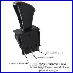 48v 1800w Brushless Electric Motor Speed Controller Pedal Reverse ATV Go Kart