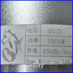 48v 1800w Brushless Electric Motor Speed Controller Throttle Grips for GO KART