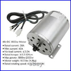48v 1800w Brushless Electric Motor Speed Controller with LCD Throttle For Go Kart