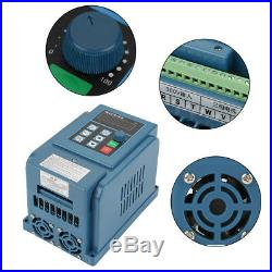 4KW Variable Frequency Drive VFD Inverter 380V AC Speed Controller Motor 3-phase