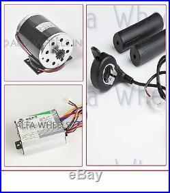 500 W 36 V DC electric 1020 motor kit w base speed control & thumb Throttle