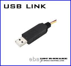 600A Car ESC 3-22S LiPo R-Snake/ Flier for Brushless Motor + USB LINK