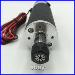 600W ER16 DC Air-cooled Spindle Motor&MACH3 Speed Control Power Supply&Bracket