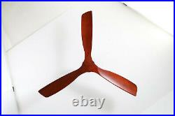 60-Inch Motor Ceiling Fan with Remote Control 3 Blade, 6-speed, Reversible Motor