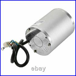 72V 3000W Brushless DC Electric Motor withSpeed Controller Set for Go Kart Scooter