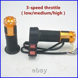 72V 3000W Electric Scooter Motor With Controller 3-Speed Throttle Key Lock Kit