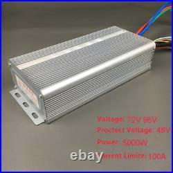 96V 5000W Brushless Motor Speed Controller 36 Mosfet 120Degree Phase