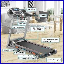 APP Control Treadmill Electric Motorised Folding Running Machine Fitness Home UK