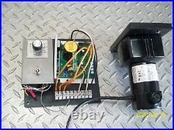 BODINE 24A2BEPM-D4 GEARMOTOR 1/29 HP. 30A w KB KBWD-13 DC MOTOR SPEED CONTROL