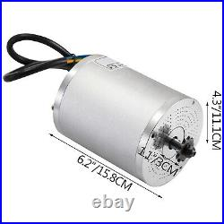 Brushless Motor Go Kart Electric Motor for Go Kart 72V 3000W w Speed Controller
