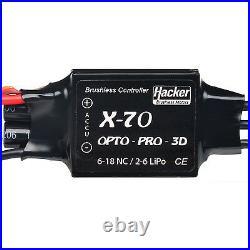 Brushless Regler Speed Controller X 70 OPTO Pro 3D Hacker Motor 87400007 810108