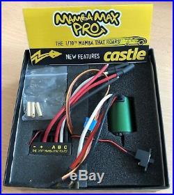 Castle 1/10th Mambamax Pro ESC And CM36 Sensorless Brushless Car Motor Combo
