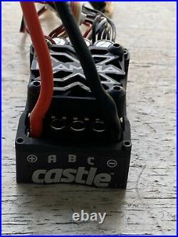 Castle 2400kv 5mm Shaft Motor Mamba X Esc Sensored