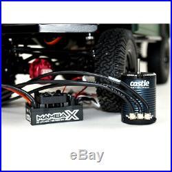 Castle Creations 010-0155-10 Mamba X Waterproof 25.2V ESC Sensored Motor Combo