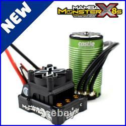 Castle Creations 010-0165-03 MAMBA MONSTER X 8S / 33.6V ESC with 1717-1260KV Motor