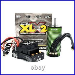 Castle Creations 010-0167-02 MAMBA XLX2/8S/33.6V ESC with2028-1100KV Sensord Motor