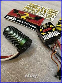 Castle Creations 1/8 Mamba Monster 2 ESC 2200kv 6s Motor with-Fan NEW WithO Box